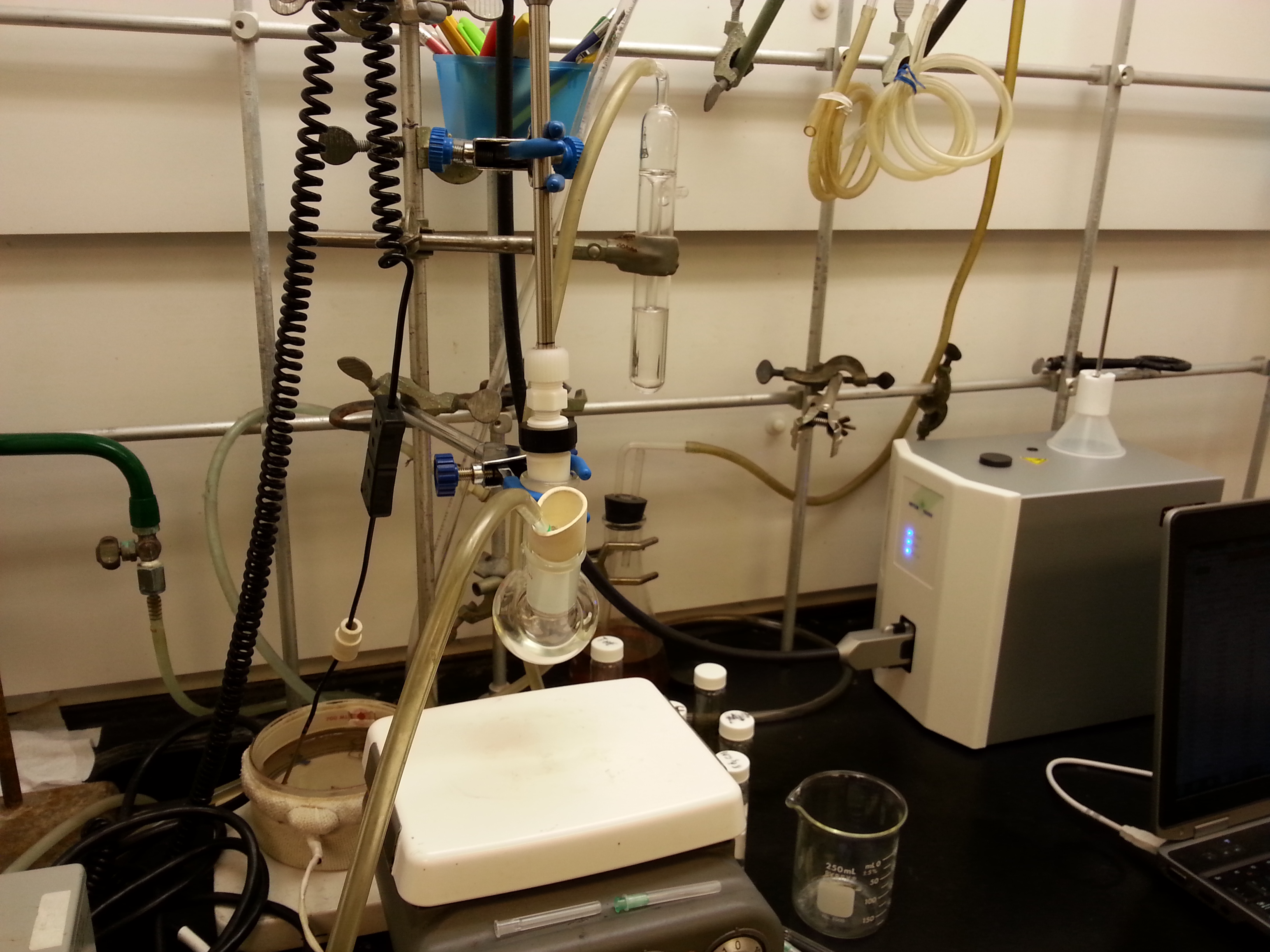 Lehigh University Chemistry Department Flowers Research ReactIR