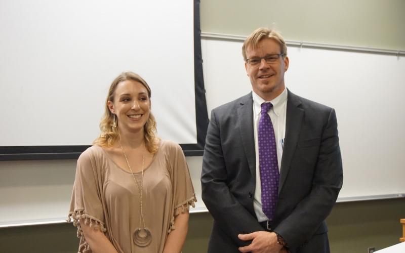 Congrats to fifth year graduate student Tesia Chciuk for a successul PhD defense
