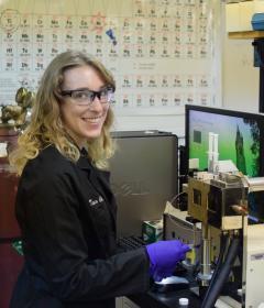Lehigh University Chemistry Department Flowers Research Tesia Chciuk